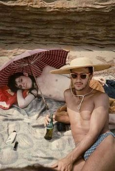Nan Goldin - Bruce and Phillippe on the Beach