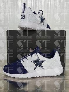 Custom Dallas Cowboys Dez Bryant Nike Roshe One CUSTOMIZATION AND RESERVATION