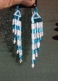 Family Jewels and Silver Inc - Beaded Pow Wow Earrings   Item2070, $22.00 (http://familyjewelsandsilverinc.com/beaded-pow-wow-earrings-item2070/)