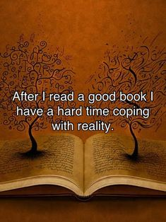 I know that feeling. After I read a really good book I realize I've totally forgot about the human race.