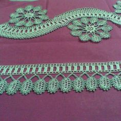 This Pin was discovered by Nag Crochet Edging Patterns, Crochet Lace Edging, Baby Knitting Patterns, Crochet Designs, Crochet Doilies, How To Treble Crochet, Crochet Chain, Tunisian Crochet, Irish Crochet