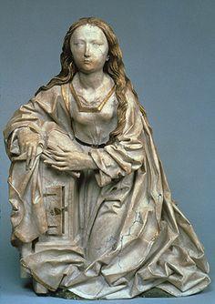 Virgin Annunciate (c.1500) by Tilman Riemenschneider by artinconnu, via Flickr