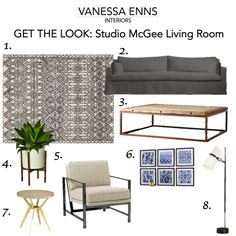 Vanessa Enns Interiors Get the Look Studio McGee Living Room
