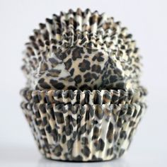 BOUGHT! You can find them at Walmart.  Cheetah Cupcake Liners - Bake It Pretty