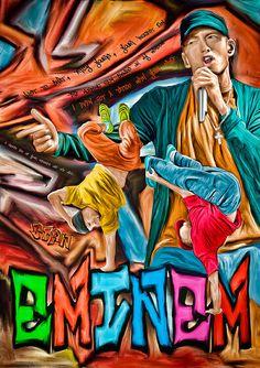 Items similar to Print Eminem music paint poster portrait Birthday Gift art STAN rap poster Eminem illustration print canvas giclee on Etsy Eminem Music, Eminem Rap, Eminem Wallpapers, Rap Singers, Eminem Photos, The Real Slim Shady, Pix Art, Music Drawings, Black Cartoon