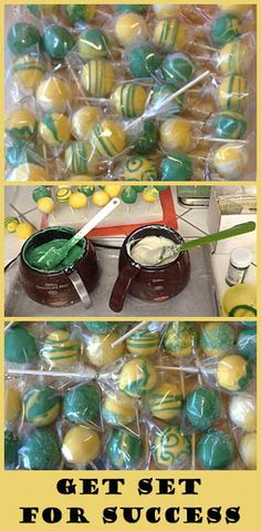 Cake Pops- get set to dip