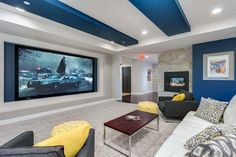 Home entertainment room ideas blue and white decorative home theater media room ideas home entertainment living . home entertainment room Home Theater Furniture, Home Theater Decor, Best Home Theater, Home Theater Rooms, Home Theater Seating, Home Theater Design, Home Entertainment, Home Theater Speakers, Home Theater Projectors