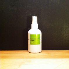 room·linen·body SPRAY // Room spray, linen spray, body spray, natural perfume. www.brooklynlimegreen.com, $12.00