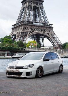 Volkswagen Golf IV in Paris