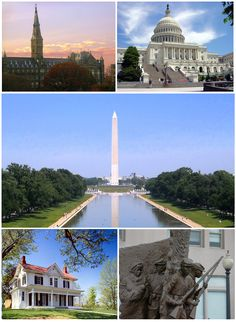 It is amazing driving over the bridge and seeing the Nations's Capital. Top Places to See in Washington, D.C.