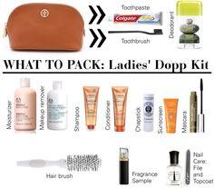 """Ladies' Dopp Kit"" by beamacedo on Polyvore"