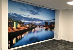 Printed Wall Graphics | Bespoke Custom Graphics | Vinyl Wall Murals | Office Branding - The Web Print Sign Design | Digital Printers Glasgow | Graphic Design | Printing | Banners | Signs | Embroidery | Digital print