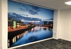 Printed Wall Graphics | Bespoke Custom Graphics | Vinyl Wall Murals | Office…