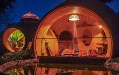 купольный дом дизайне интерьера