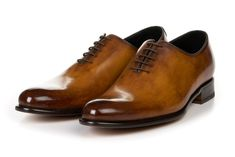 The Martin Wholecut - Tobacco Brown Fashion, Leather Fashion, Men's Fashion, Paul Evans Shoes, Men Dress, Dress Shoes, Touch Of Gray, Custom Design Shoes, Long Toes