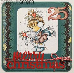 Scrap with Sandra: Merry Christmas Card