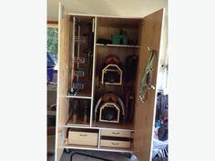Beautiful tack locker & some tack still to sell...