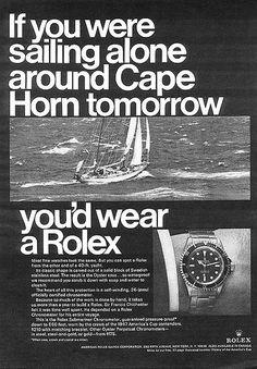 Rolex Ad - Submariner 5513