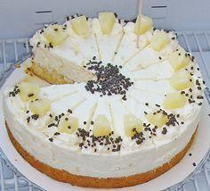 Ananas - Frischkäse - Torte, ein beliebtes Rezept aus der Kategorie Torten. Bewertungen: 1. Durchschnitt: Ø 3,3.