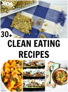 """Pin2 Tweet Share +1 Share StumbleEating clean is all the rage right now. And for good reason – doctors say that cutting out added sugars can have a huge impact on our overall health for the better! What is """"clean eating""""? It's eating whole foods without adding sugar or refined carbohydrates. But finding recipes that […]"""
