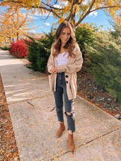 Ribbed Longline Cardigan Sweater curated on LTK