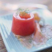 Lentilles saucisse en verrine recette recette lentilles verrine facile et lentilles - Recette bloody mary ...