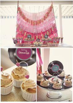 mini pancakes and cinnamon rolls.  photo: Amanda Doublin / stylist: Sweet Emilia Jane / desserts: Sweets Indeed / flowers: Christa Rose Florals