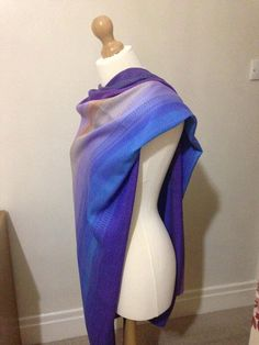 Handwoven 'TROPICAL SUNSET' baby rebozo/ by LauraParkinHandWoven