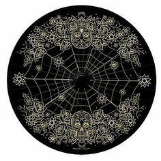 Retro A Go Go Black Day of The Dead Paper Parasol Sun Umbrella Shade Skull | eBay