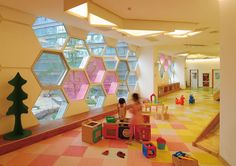 Da Ya Kindergarten | Xi An | China | Colour in Architecture 2013 | WAN Awards