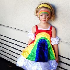 #rainbow costume
