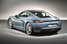 PORSCHE has unveiled the new 718 Cayman, the latest and fourth generation of the mid-engined, two-seater sports coupe with a new flat-four turbocharge. Porsche 718 Gts, Porsche 718 Cayman, New Porsche, Porsche Boxster, Porsche Cars, New Engine, Audi Tt, Dream Cars, Models