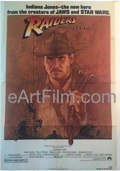#HappyBirthday #JohnWilliams https://eartfilm.com/search?q=%22john+williams%22 #musician #music #soundtrack #moviescore #composers #composing #StarWars #Raiders #movie #movies #poster #posters #film #cinema #movieposter #movieposters    Raiders of the Lost Ark Steven Spielberg Harrison Ford