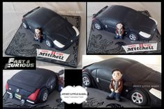 My cake for a boy who wants this #Nissan350Z when he grows up :-) #fast&furious #tokyodrift