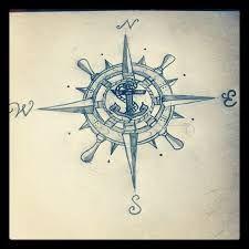 Resultado de imagen de sailor compass anchor tattoos