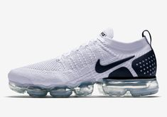 """Nike Vapormax Flyknit 2.0 """"Reverse Orca"""" Milan Fashion Weeks, New York Fashion, Runway Fashion, Fashion Models, Fashion Tips, Dress With Sneakers, Shoes Sneakers, Nike Shoes, Nike Vapormax Flyknit"""
