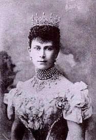 La reina Alexandra