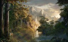 Fantasy Landscape Wallpapers Phone As Wallpaper HD
