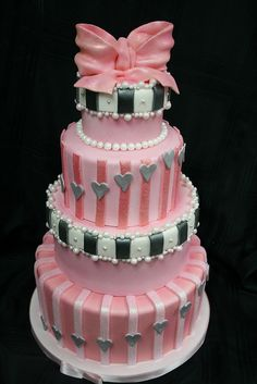 pretty celebration cake