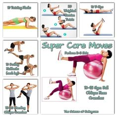 Core exercises are an important part of a well-rounded fitness program, but aside from the occasional situps and pushups, core exercises are often neglected....