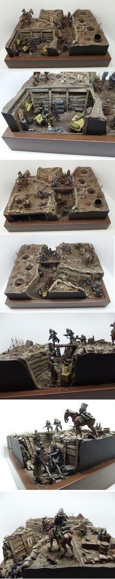 Death Korps of Krieg: Trench Warfare Diorama