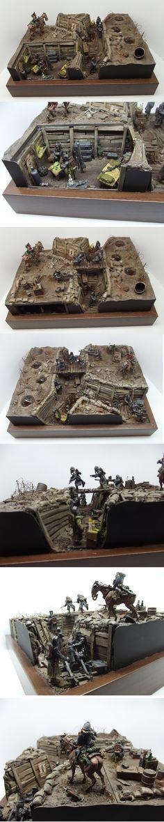 Death Korps of Krieg: Trench Warfare Diorama