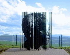 """Celebrating Nelson Mandela with Art - """"For to be free is not merely to cast off one's chains, but to live in a way that respects and enhances the freedom of others."""" - Nelson Mandela"""