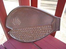 BENNINGTON POTTERY VT. FISH SHAPED PLATTER WALL PLAQUE
