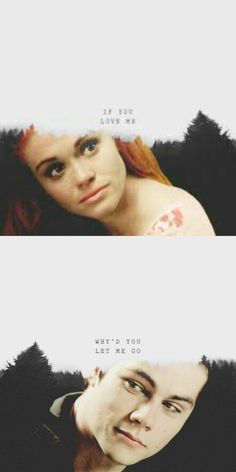 So cute....although I think Lydia is cute with Parish and Maliah is cute with Stiles, Stydia  always breaks my heart