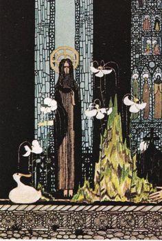 Kay Nielsen vintage art nouveau print by FairlyVintagePrints