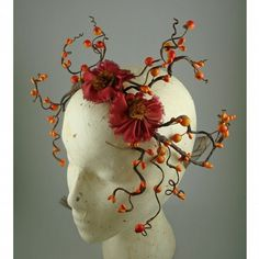 autumn curls fairy crown