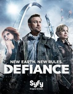 DEFIANCE - to round out my TV Addiction -  my new favorite SyFy show!