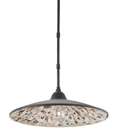 Looking for the perfect pendants for your beach house? Look no further than these stunning fixtures from #curreyandcompany. The natural oyster shell detail is unexpected and delightful. #lighting #beachhouse