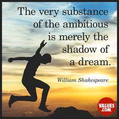 Resist the fear of failure #ambition #positivity www.values.com